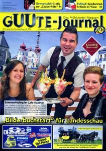 Unsere Sterngartl-Postkutsche ist Bild des Monats im Guute Journal.